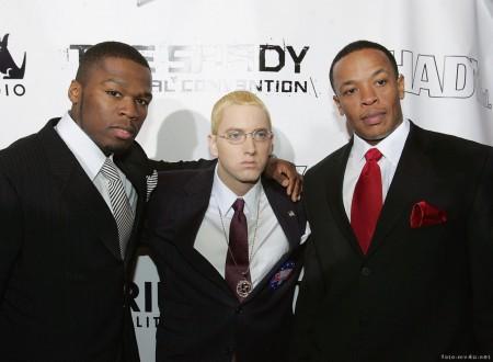50 Cent, Eminem и Dr. Dre