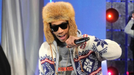 Рэпер Wiz Khalifa